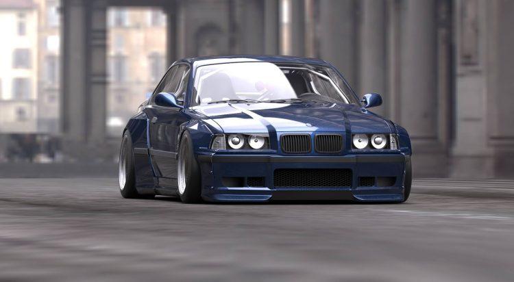 BMW 3er Rocket Bunny Pandem (1)