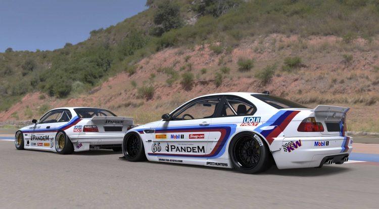BMW 3er Rocket Bunny Pandem (7)