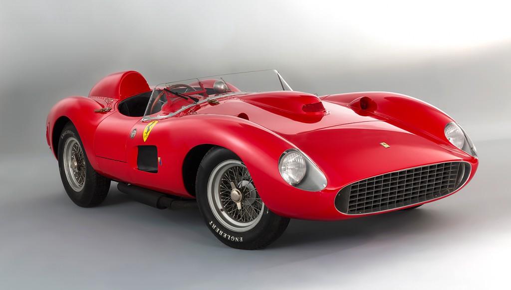 Rekord Erlös Ferrari 335 S Spider Scaglietti Bringt 32 Millionen Euro