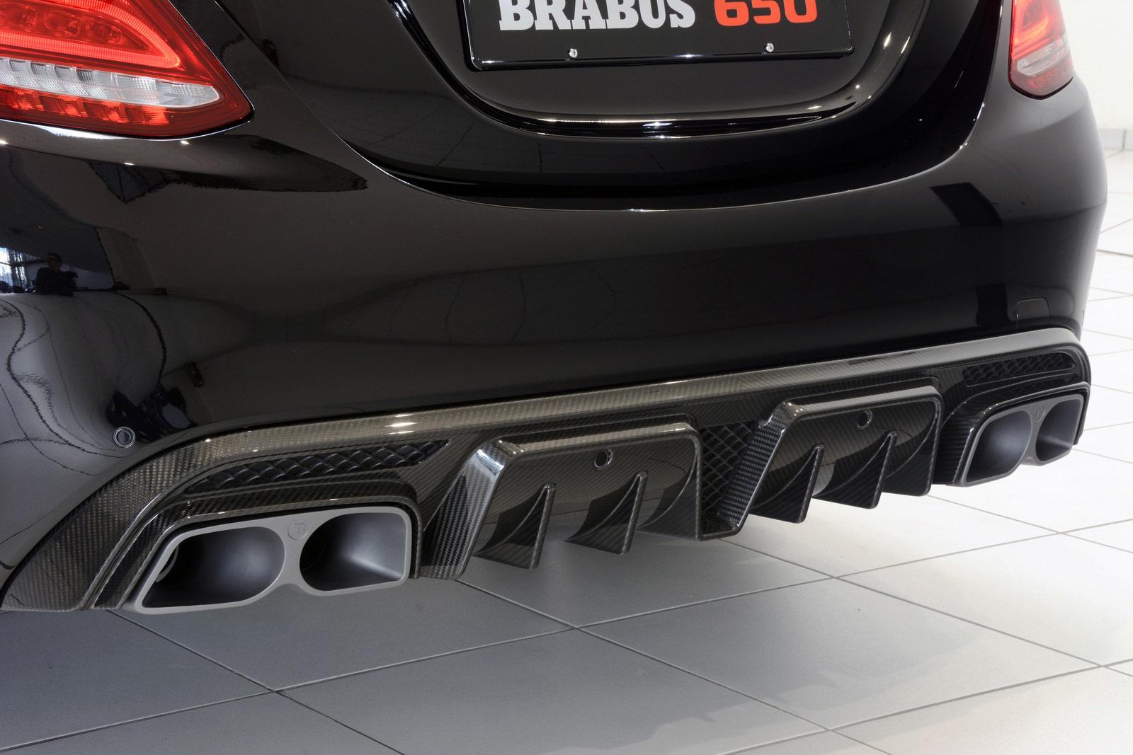 Mercedes-AMG C63 S Brabus C650 2016 (7)