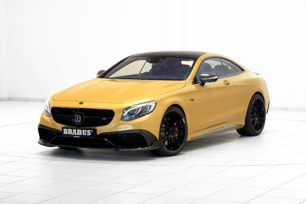 Mercedes-AMG S63 Coupe Brabus (20)