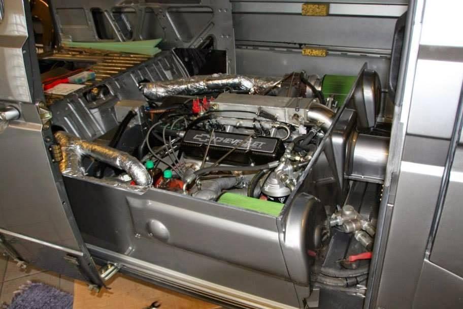Vw T3 Mit Chevy Biturbo V8 Der 1 100 Ps Bulli
