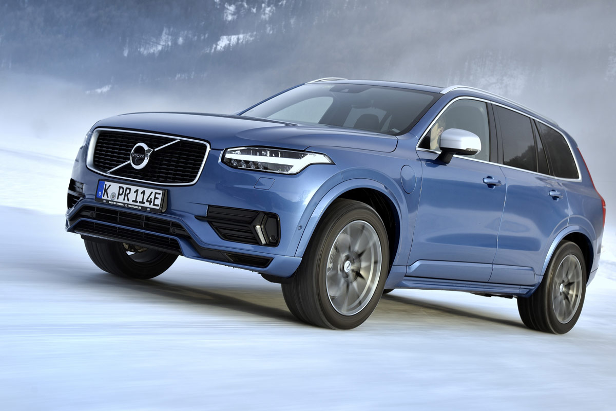 test volvo xc90 t8 twin engine unterwegs im schicken hybrid suv. Black Bedroom Furniture Sets. Home Design Ideas