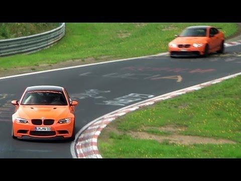 6x BMW M3 GTS + 635 HP G-Power M3 GTS on the Nürburgring
