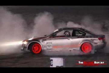 BMW M3 E92 with M5-engine: Huge burnout
