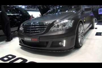 Video: Brabus S800L live auf dem Autosalon Genf