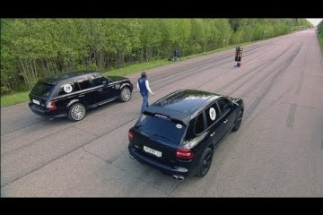 Video: Cayenne Turbo Gemballa vs. Range Rover Sport vs. ML63 AMG