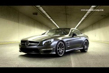 Video: Mercedes SL65 AMG 45th anniversary edition