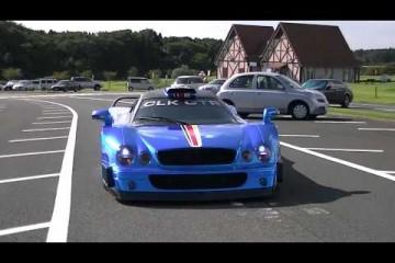 Video: Mercedes CLK GTR von Office-K aus Tokyo