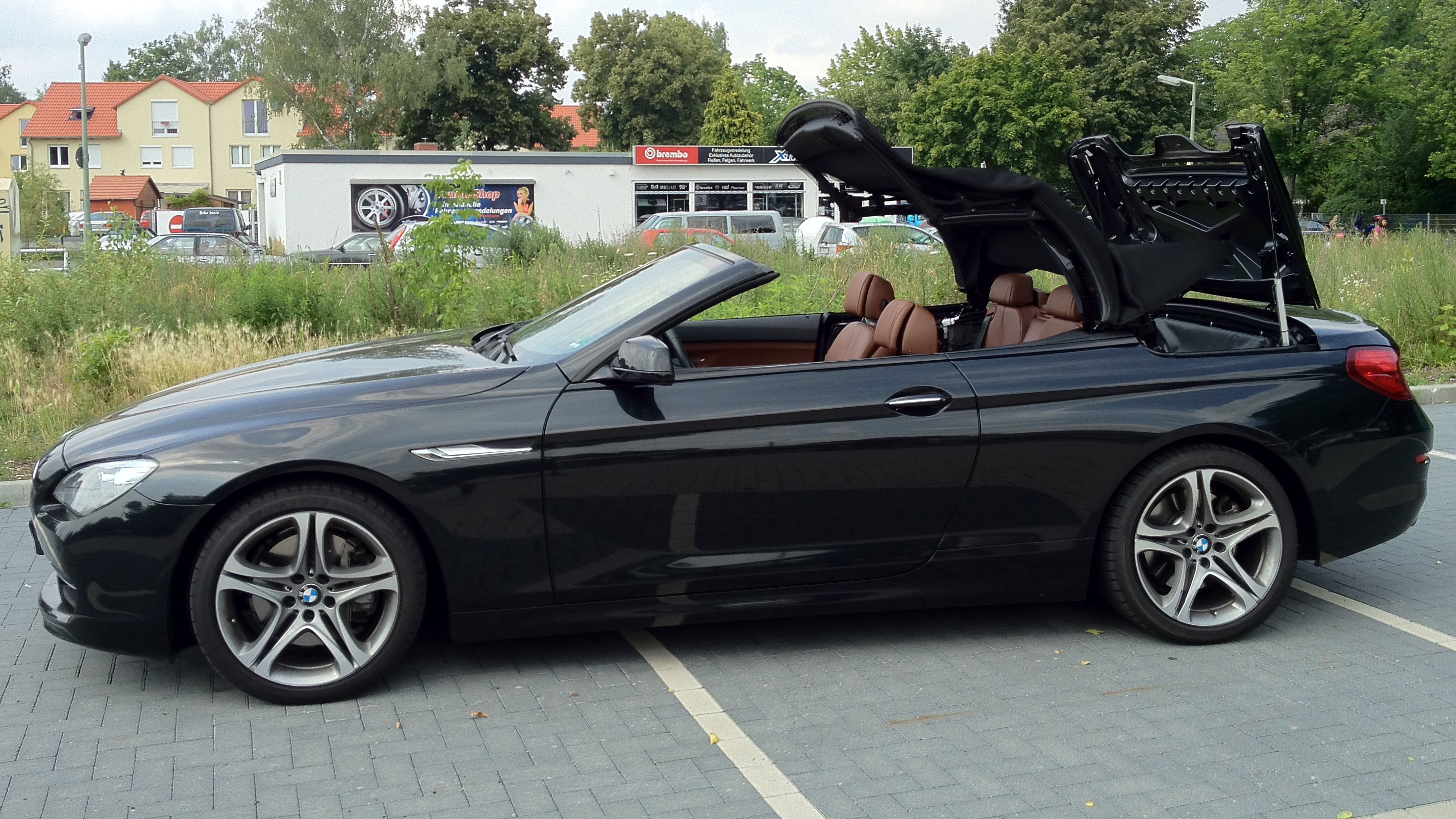 mods4cars neue zusatz verdecksteuerung f r bmw 6er cabrio. Black Bedroom Furniture Sets. Home Design Ideas