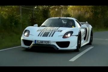 Video: Chris Harris als Beifahrer im Porsche 918 Spyder