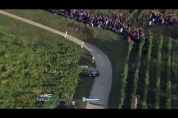 Video: Petter Solbergs ungewollter Ausflug in die Weinberge