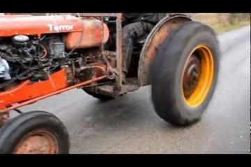 Video: Renn-Traktor mit Volvo-Power
