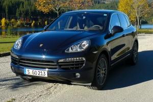 Porsche Cayenne S Diesel Test