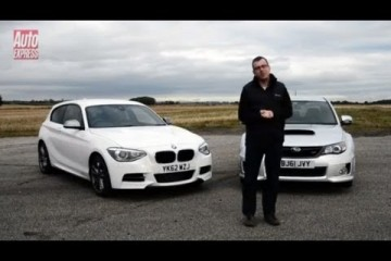 Video: BMW M135i vs. Subaru Impreza WRX STi