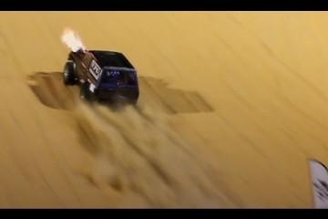 Video: Uphill Sand Dragrace