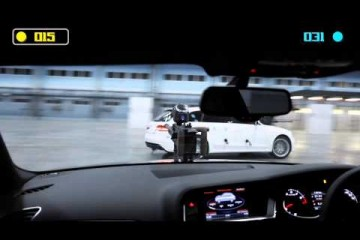 Video: Audi RS4 Avant im Paintball Duel