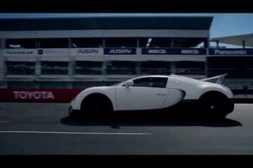 Video: Bugatti Veyron Grand Sport auf der Rennstrecke