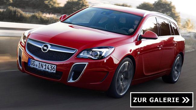 Opel Insignia Opc Schick Gemacht Furs Neue Modelljahr