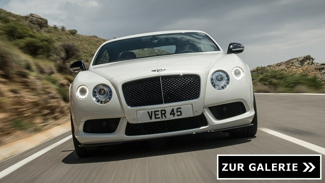 continental gt v8 s galerie