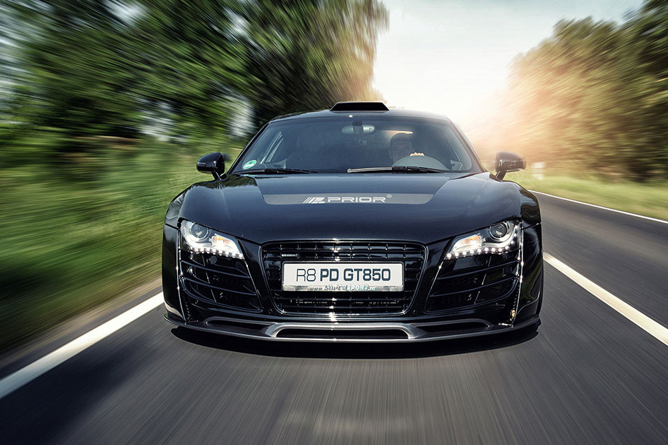 audi r8 von prior design neue bilder vom pd gt850. Black Bedroom Furniture Sets. Home Design Ideas