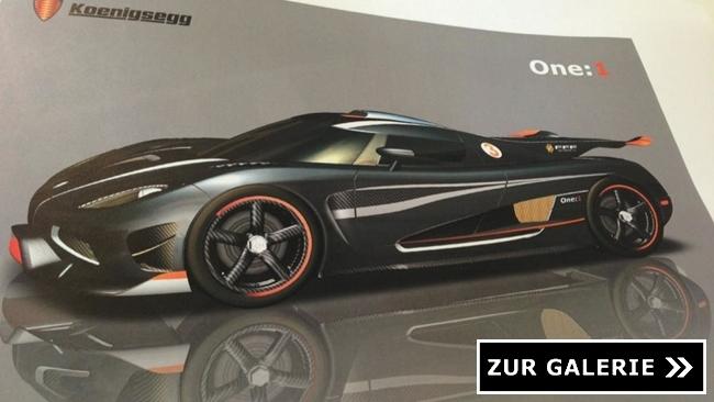 Koenigsegg One-1 Galerie