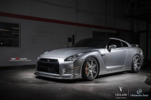 Nissan GT-R Vellano Forged Wheels 2013 (5)