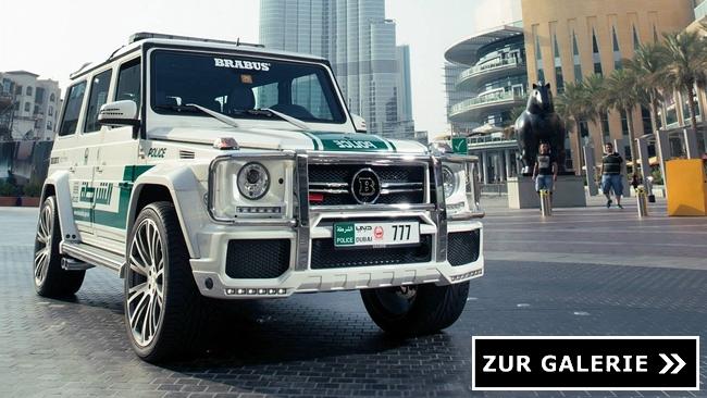 Brabus Dubai Police Middle East Galerie