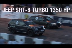Video: Audi RS6 (1000 PS) vs. Jeep Grand Cherokee (1350 PS)