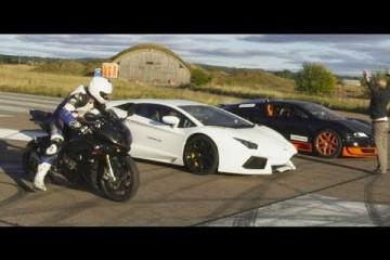 Video: Aventador vs. Grand Sport Vitesse vs. S 1000 RR