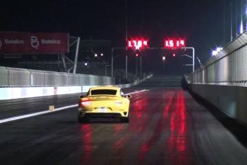 Video: Porsche 911 turbo S (991) auf der Viertelmeile