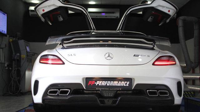 Mercedes SLS AMG Black Series von PP-Performance