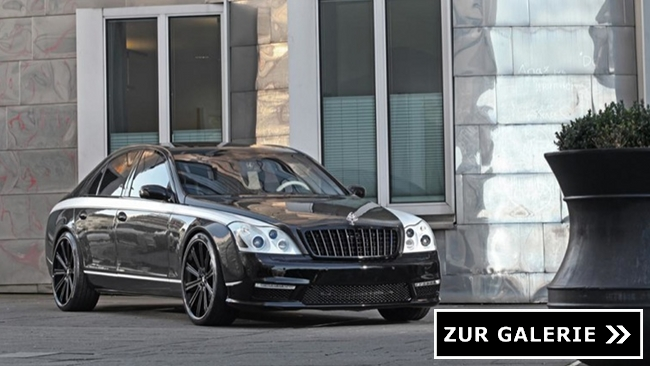 Maybach 57 S Knight Luxury Galerie