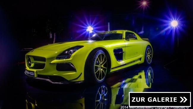 Mercedes SLS AMG Black Series Performance Studio Galerie