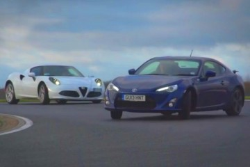 Video: Alfa 4C vs. Porsche Cayman vs. Toyota GT86