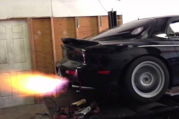 Video: Mazda RX7 – Flammenwerfer auf dem Dyno