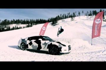 Video: Nissan GT-R Camo – bisschen Spaß im Schnee