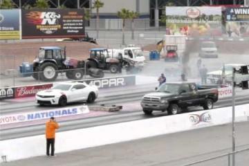Video: Dragrace – Diesel-Pickup vs. V8-Musclecar