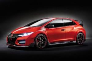 Honda Civic Type R Concept teaser HP 16zu9
