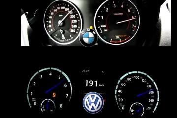 Video: BMW M135i vs. VW Golf VII R (0-250 km/h)