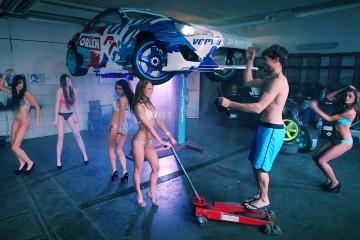Video: Sexy Harlem Shake beim Bau eines 1000 PS starken Drift-GT86