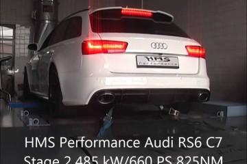 Video: Audi RS6 von HMS Performance