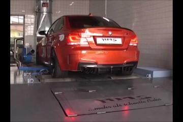 Video: BMW 1M Coupé mit Klappen-Abgasanlage von HMS Performance