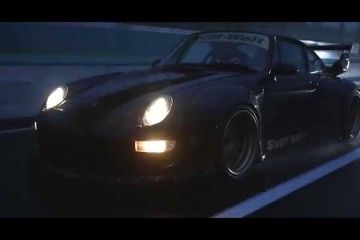 Video: Porsche 911 993 Rauh Welt Begriff China