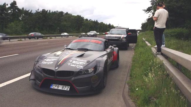 BMW Z4 GT3 Gumball 2