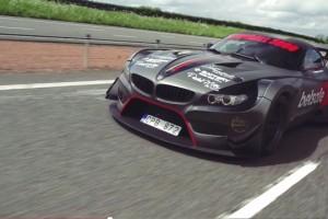 BMW Z4 GT3 Gumball