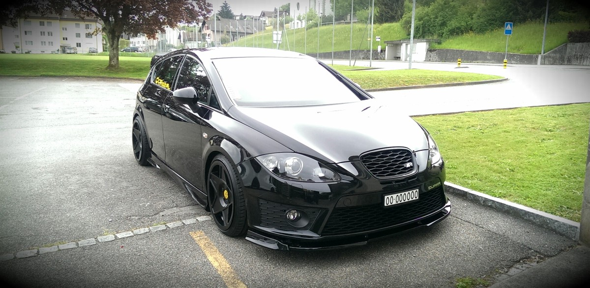 seat leon 1p cupra felgen modifizierte autogalerie. Black Bedroom Furniture Sets. Home Design Ideas