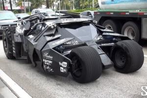 Gumball 3000: Batmobile Tumbler live und in Farbe
