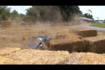 Nissan GT-R NISMO: Crash beim Festival of Speed 2014