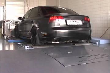 Video: Audi RS4 mit Klappen-Abgasanlage von HMS-Tuning